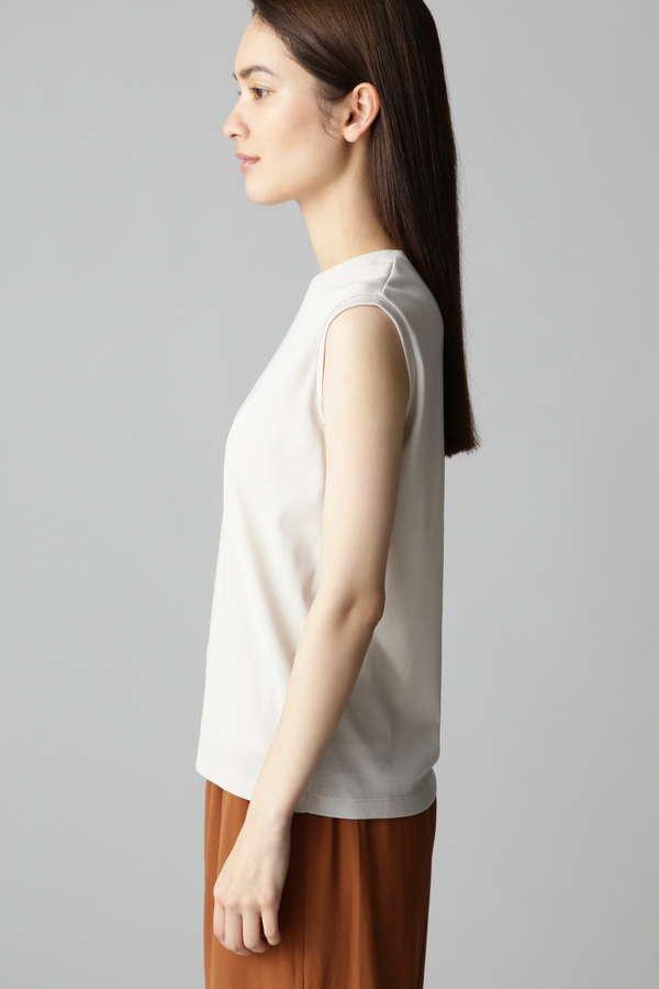 スリーブレスフライスTシャツ