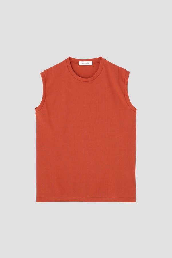 DIRECTOIRE スリーブレスフライスTシャツ