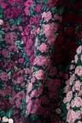 グラデーション花柄ブラウス