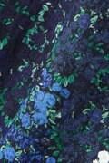 Hermaphrodite グラデーション花柄ブラウス