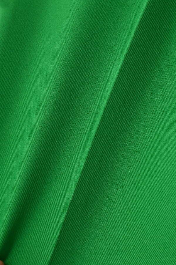 【MORE 3月号掲載】Unaca カラーサテン1タックテーパードパンツ