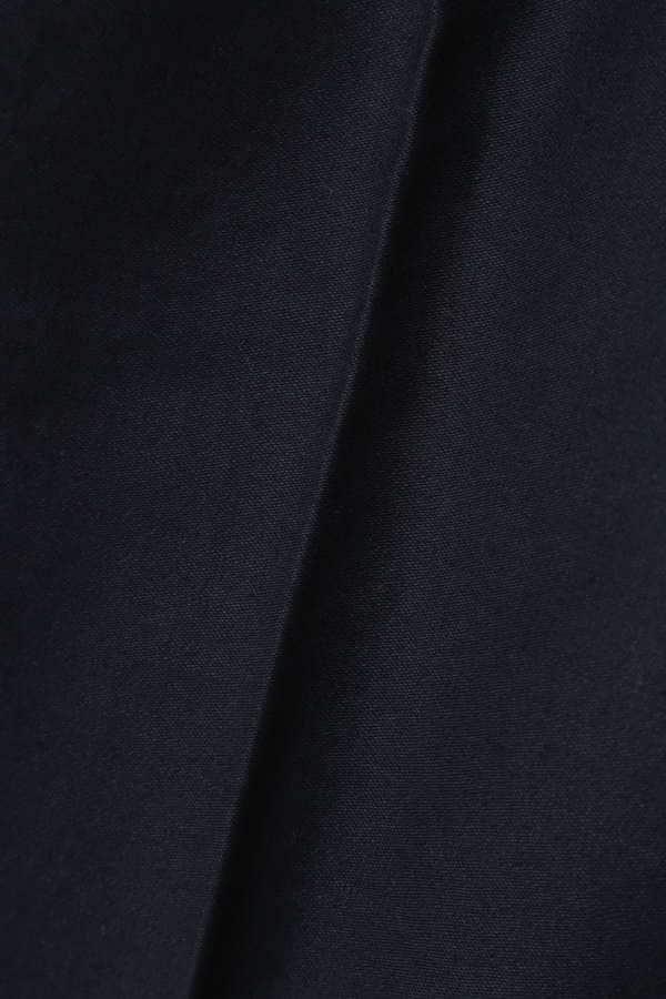 Luxluft センタープレスコットンワイドパンツ