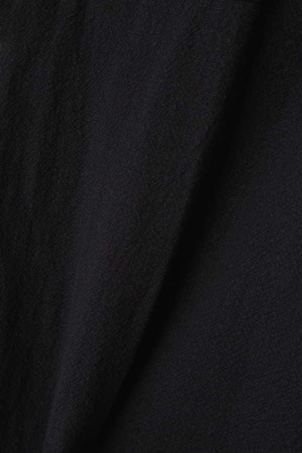 Unaca noir ポケット付きワイドパンツ
