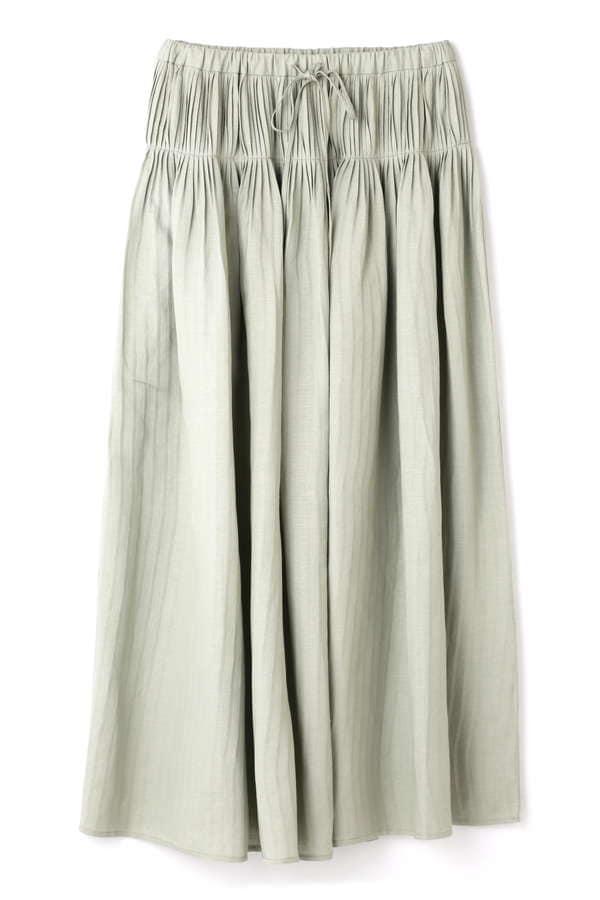 Hermaphrodite ウエストプリーツスカート