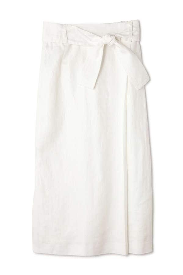 リネンツイルリボンスカート