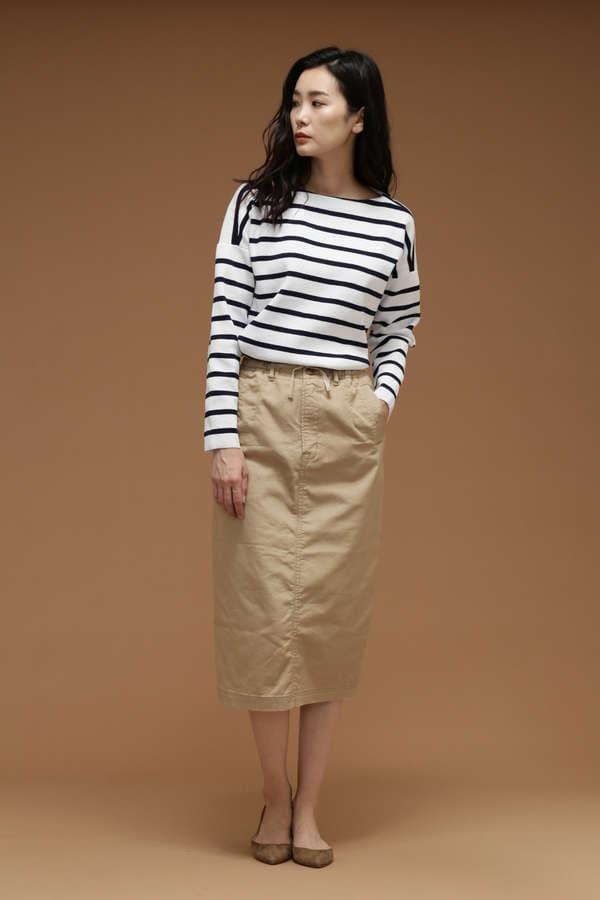 Luxluft クールマックスイージータイトスカート