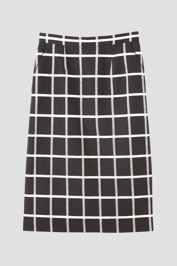 DIRECTOIRE ドビーチェックタイトスカート