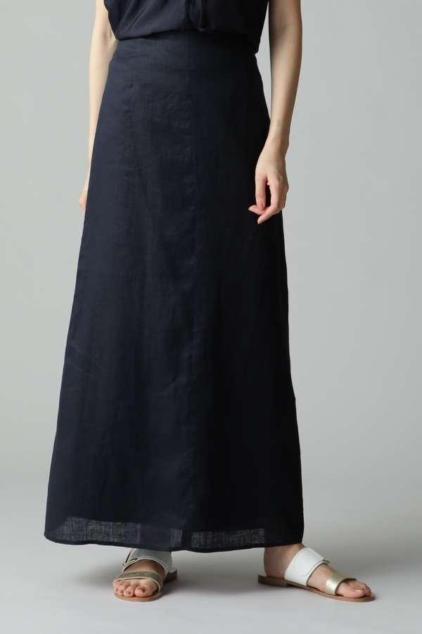 リネンロングスカート