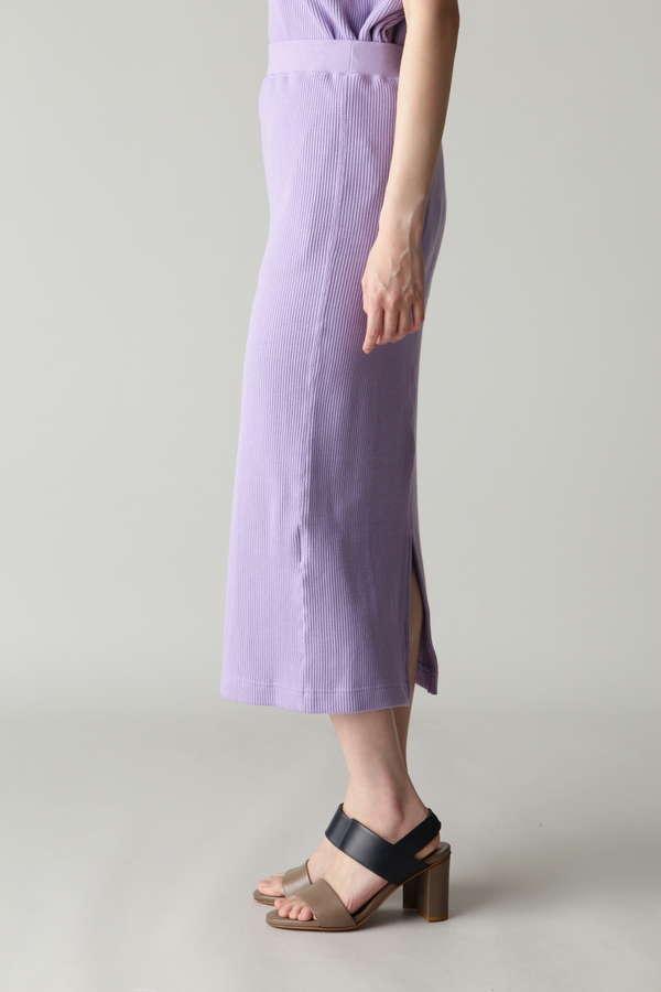 ワッフルロングタイトスカート