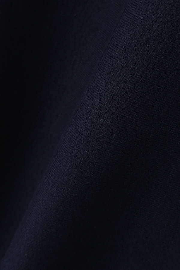 Unaca noir 接結ニットフレアスカート