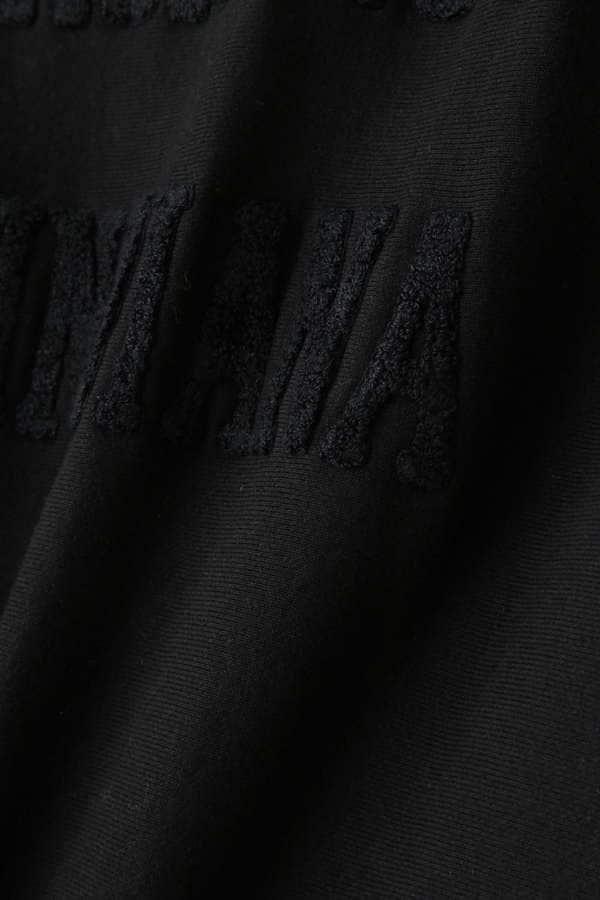 刺繍入りスエットプルオーバー