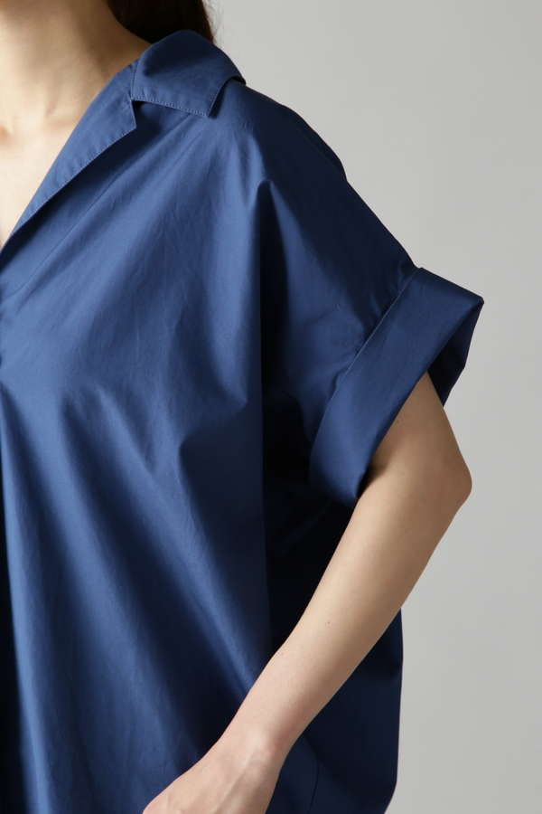 開衿半袖シャツ
