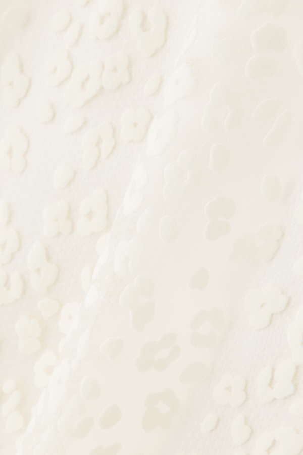 レオパードフロッキーブラウス