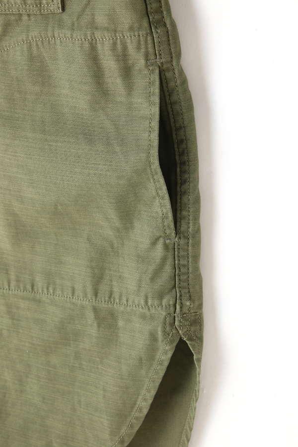 ミリタリ-シャツジャケット
