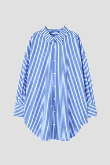 2WAYビッグストライプシャツ