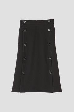 アムンゼンビックボタンストレートスカート