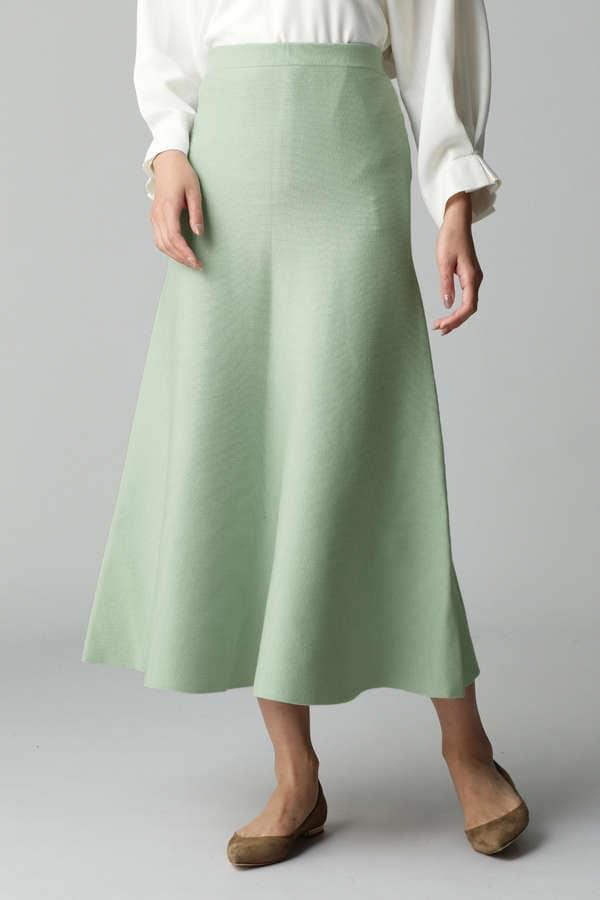 ロングフレアースカート