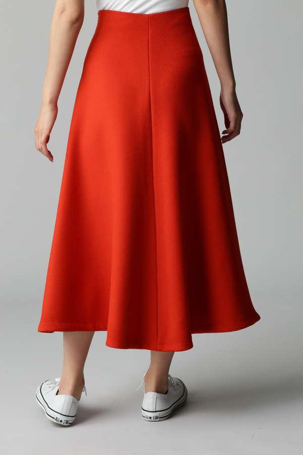 トリプルクロスロングフレアースカート