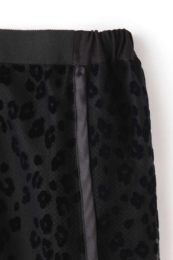 レオパードフロッキースカート