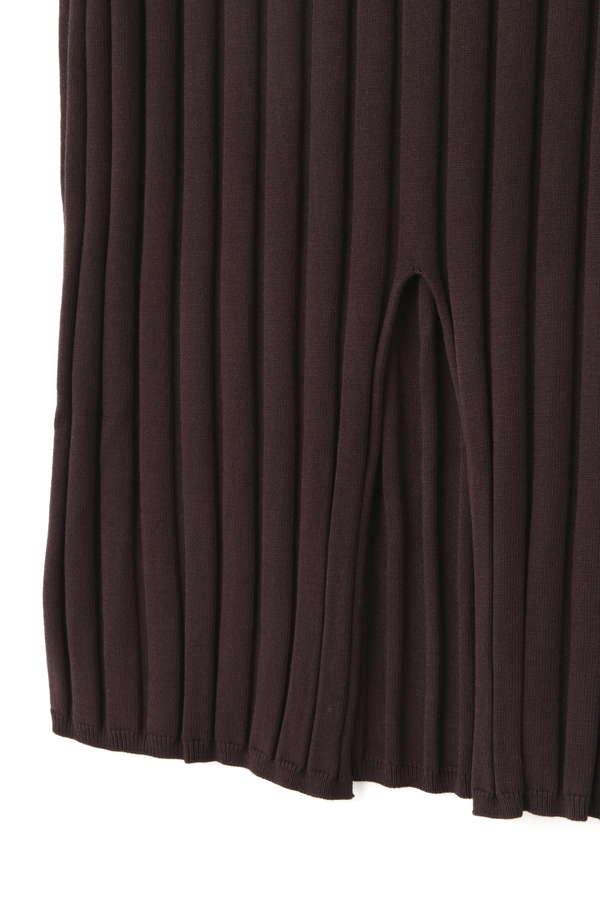 ワイドリブタイトスカート