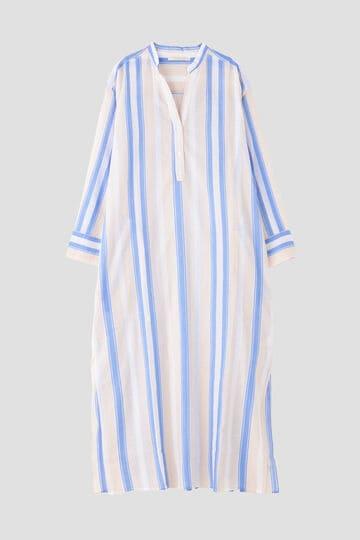 ne quittez pas / Voile Stripe Shirts Dress