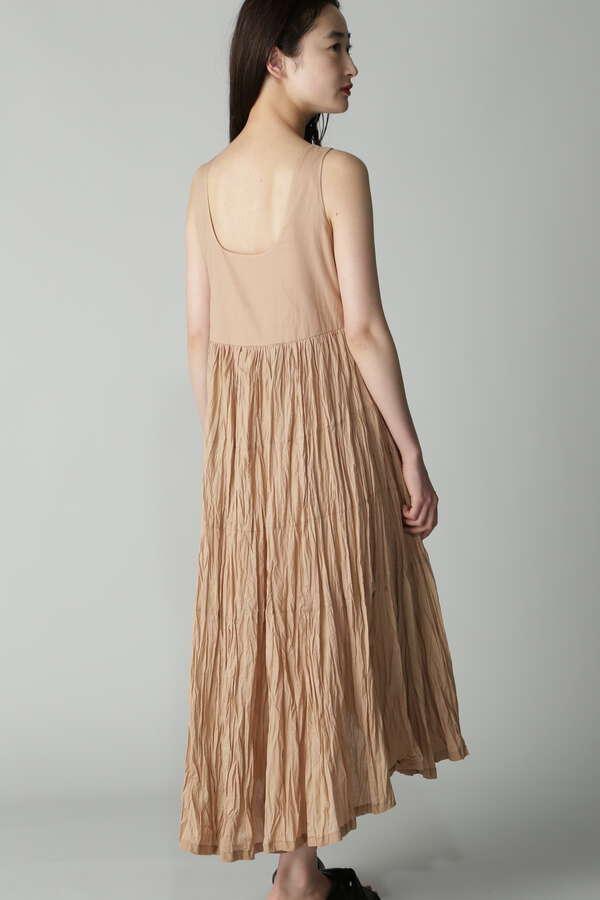 CASA FLINE linen イレヘムドレス