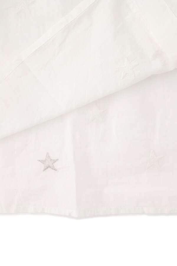 wa...lance 星柄刺繍シャツワンピース