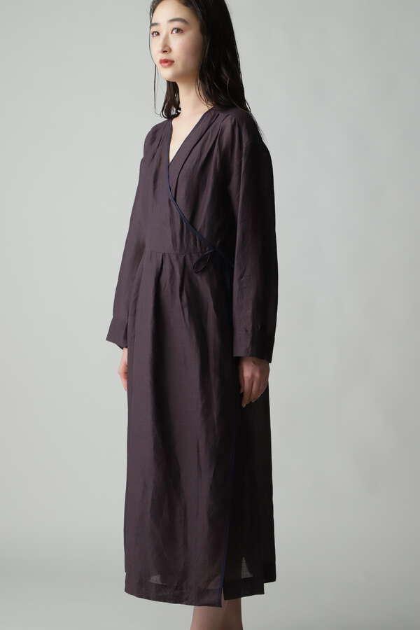 【別注】enrica カシュクールワンピースガウン