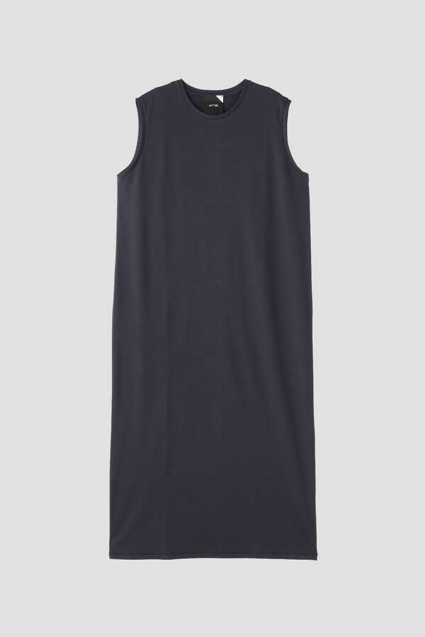 【WEB限定】ATON / SLEEVELESS DRESS
