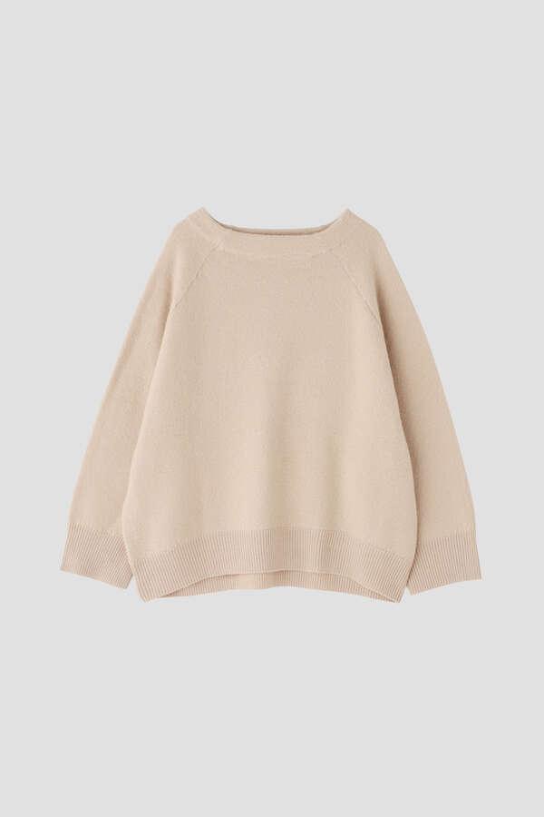 【セットアップ対象】esta'nder/Boiled Wool Knit Pullover
