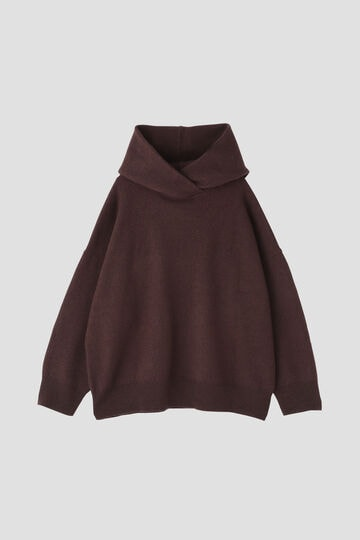 esta'nder/Boiled Wool Knit Parker
