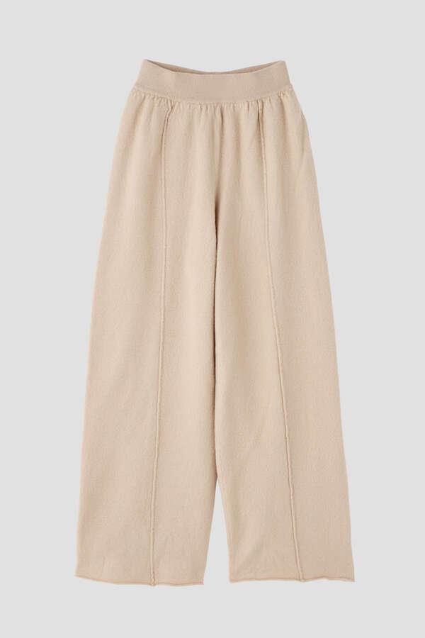 【セットアップ対象】esta'nder/Boiled Wool Knit Pants