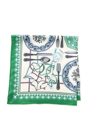 manipuri 65×65 dishesスカーフ