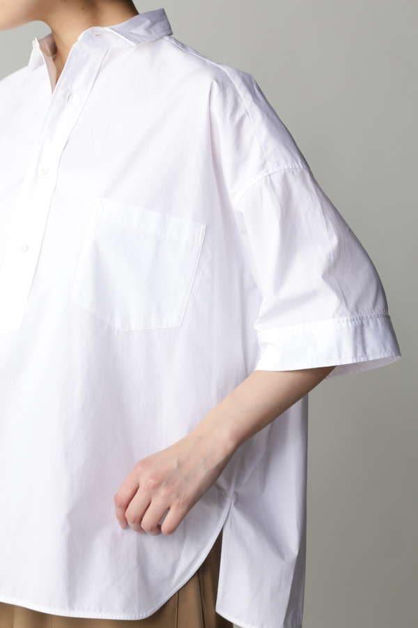 [web限定]TICCA 半袖スクエアビッグシャツプルオーバー