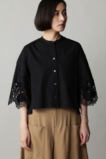 [web限定]TICCA 袖レースシャツ