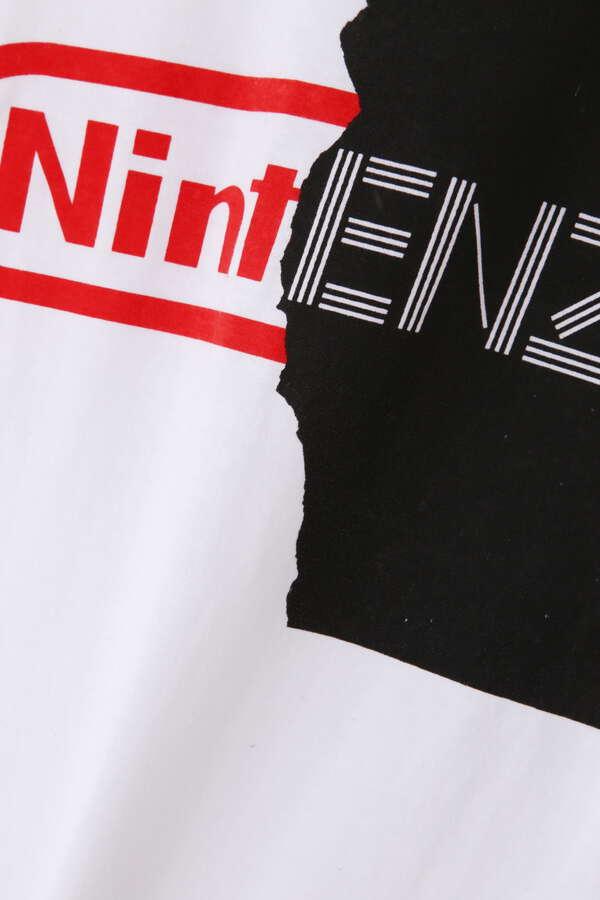 BLACK SCORE / print tee