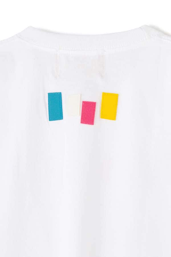 SEVEN BY SEVEN/FELT EMBROIDERY TEE S/S