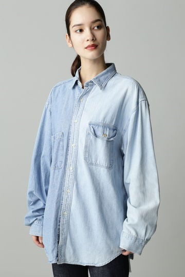 SEVEN BY SEVEN/REWORK ASYMMETRY SHIRTS
