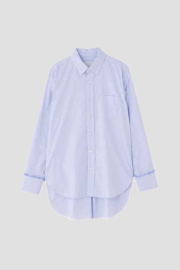 【WEB限定】TICCA ボタンダウンフリンジシャツ