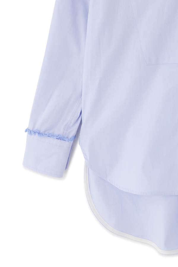 【WEB限定】TICCA ビブヨークフリンジシャツ