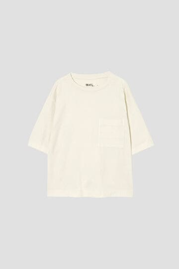 GARMENT DYE BASIC JERSEY(MHL SHOP限定)_091