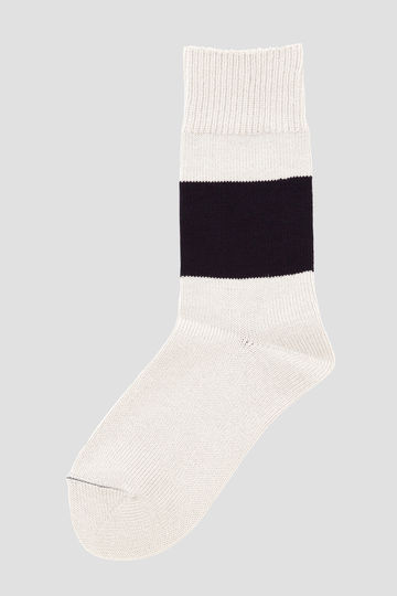 BOLD STRIPE COTTON SOCK_032