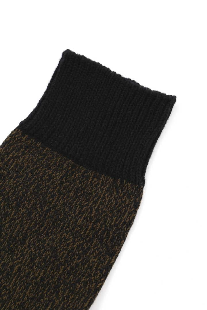MELANGE COTTON LINEN SOCK2