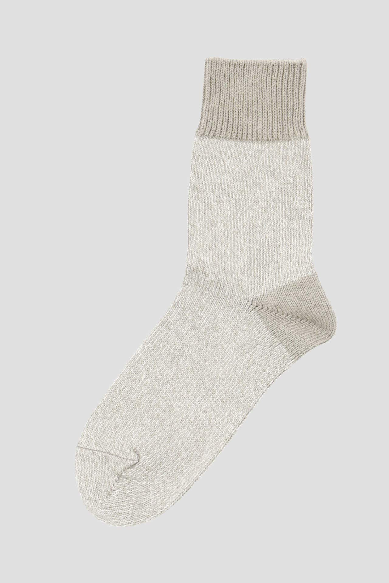 MELANGE COTTON LINEN SOCK6