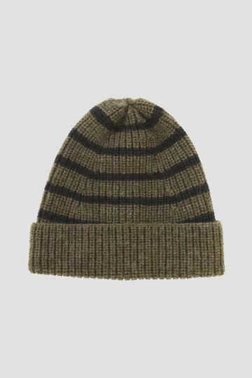 MHL STRIPE RIB HAT(MHL SHOP限定)_181