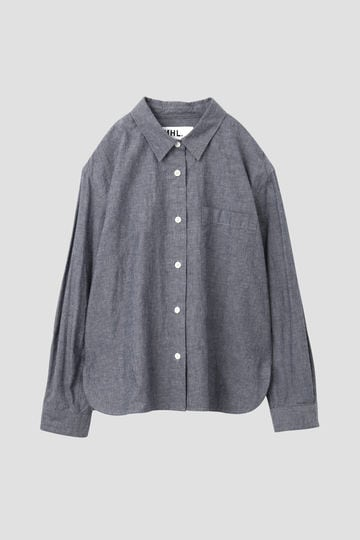 COTTON LINEN CHAMBRAY