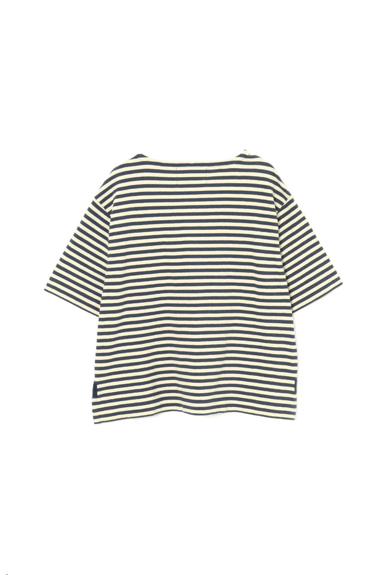 HIGH TWISTED STRIPE JERSEY