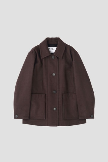 BASIC WOOL MELTON(MHL SHOP限定)_052