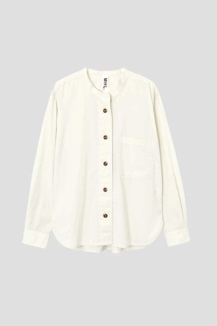 GARMENT DYE BASIC POPLIN(MHL SHOP限定)