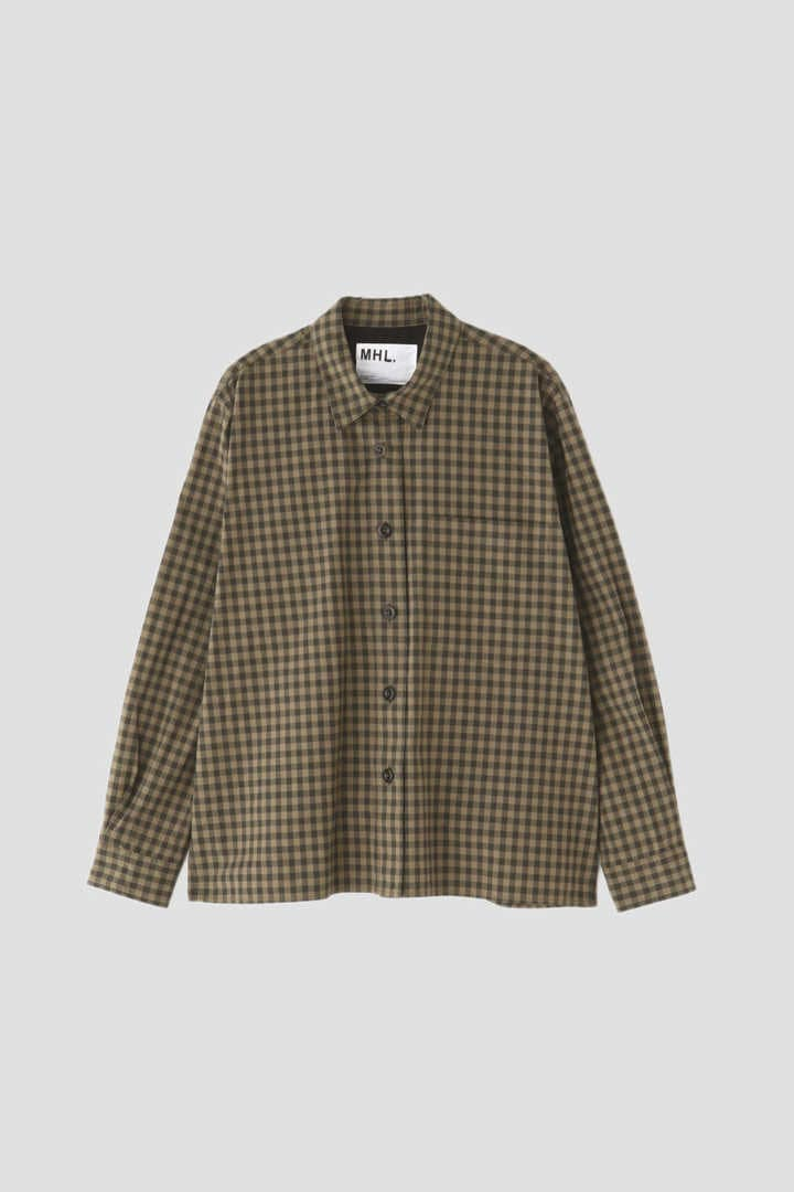 END ON END COTTON CHECK1